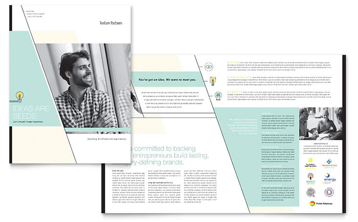 Venture Capital Firm - Brochure Design Example