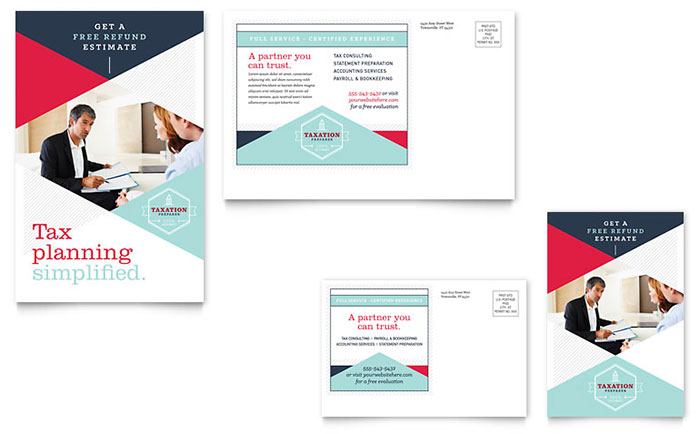 Urban Financial Services Direct Mail Postcard Example