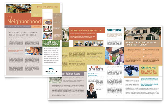 Real Estate Print Ad Templates