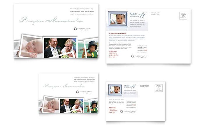 Photographer Postcard Design