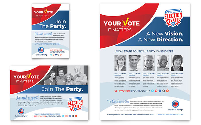Election Flyer Design Sample
