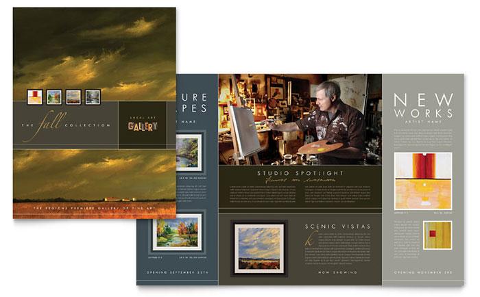 Art Gallery Brochure Design
