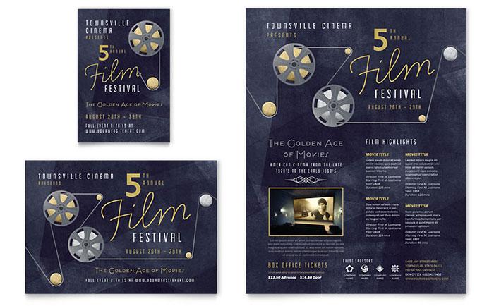Film Festival Flyer Design Idea