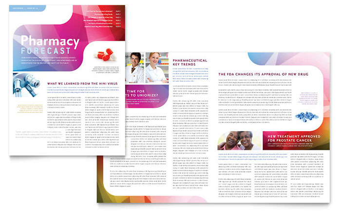 Medical School Newsletter Design