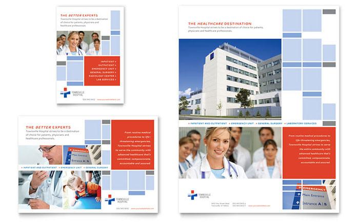 Hospital Flyer & Ad Design