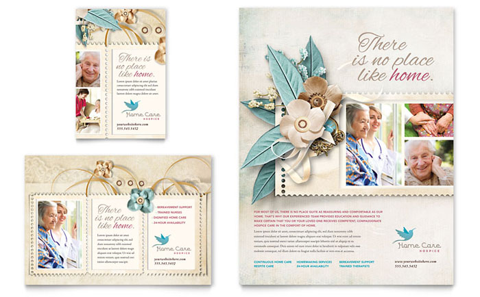 Hospice & Home Care Flyer Design