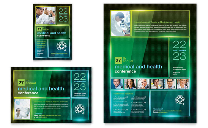 Flyer & Ad Example - Medical Conference