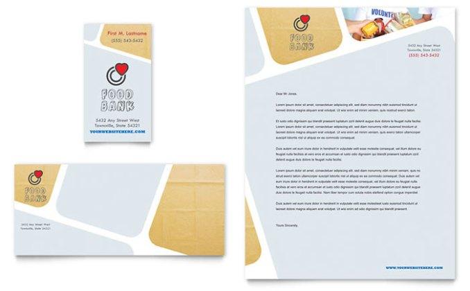 501c3 letterhead newsinvitation food bank volunteer business card letterhead non profit letterheads templates design examples spiritdancerdesigns Choice Image