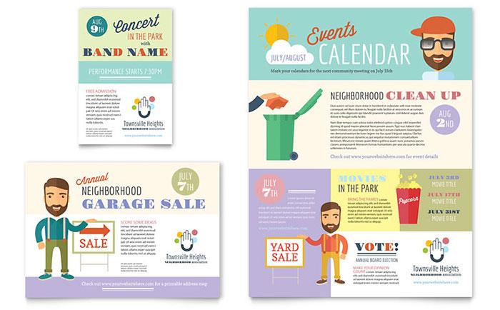 Homeowners Association - Sample Flyer Design