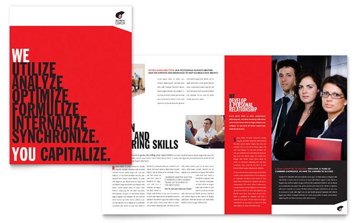 Attention-Getting Brochure Design