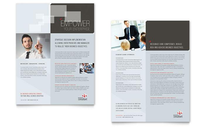 Corporate Business Datasheet Design
