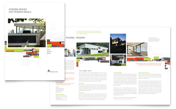 Brochure Sample - Architectural Design