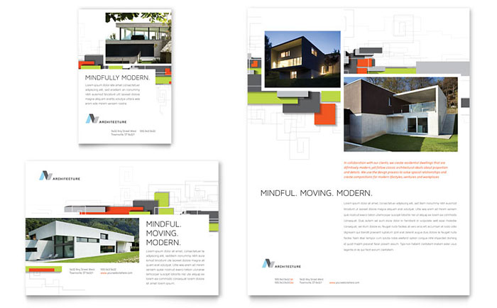 Flyer & Ad Sample - Architectural Design