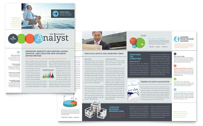 Newsletter Sample - Business Analyst