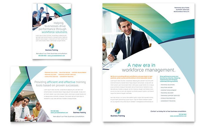Business Training - Flyer & Ad Sample