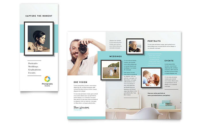Photographer Marketing Brochure
