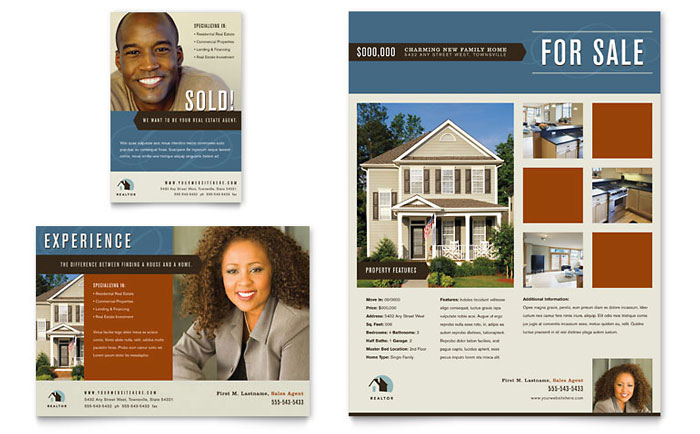 Flyer Example - Real Estate Agent