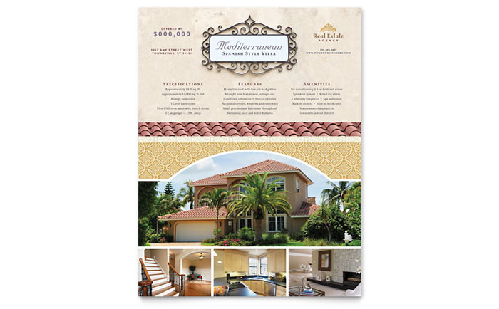 Flyer Example - Luxury Real Estate