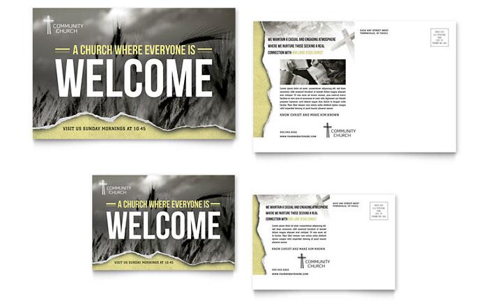 Postcard Sample - Bible Church