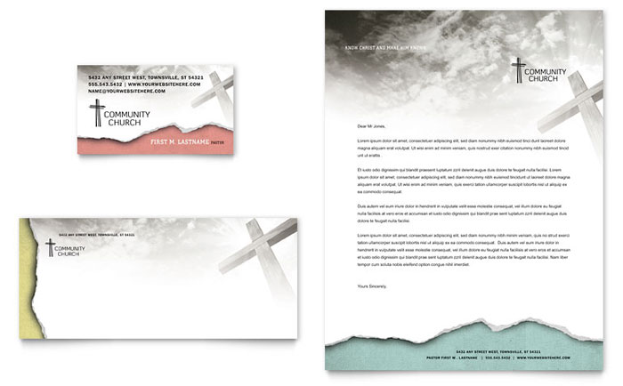 Stationery Example - Bible Church