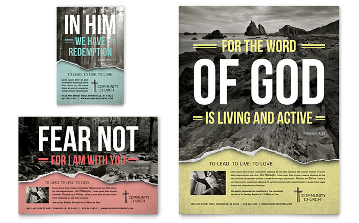 Flyer & Ad Sample - Bible Church