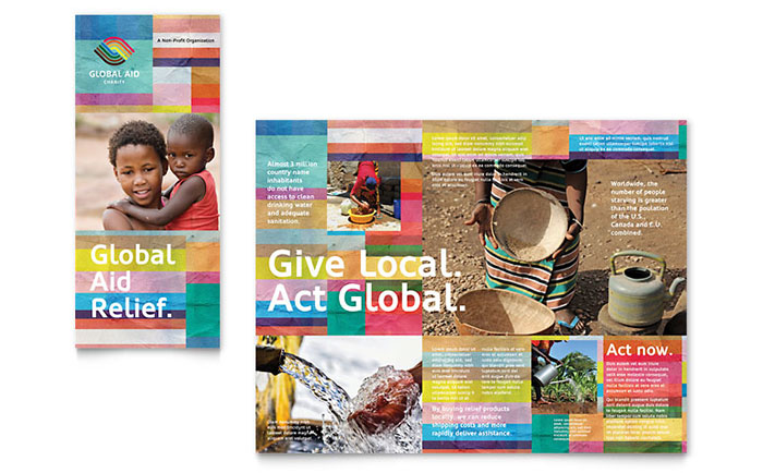 Nonprofit Humanitarian Aid Brochure