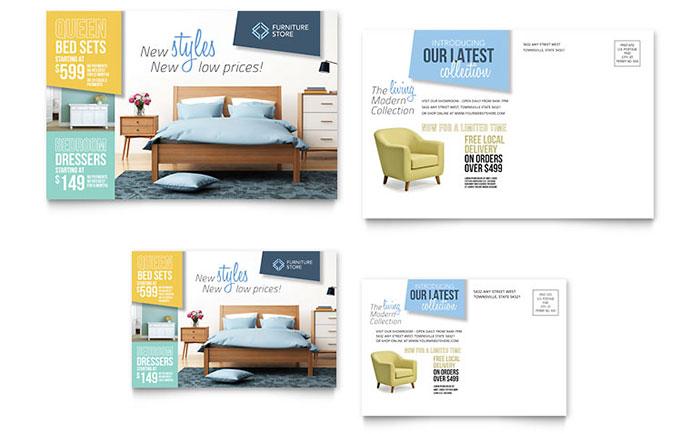 Home Furniture Postcard Sample