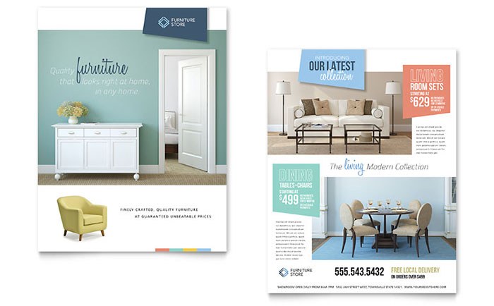 Home Furniture Sales Sheet