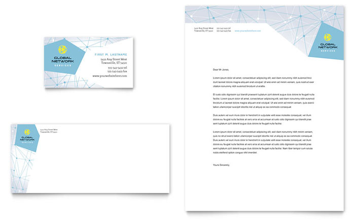 Letterhead Sample - Global Network Services