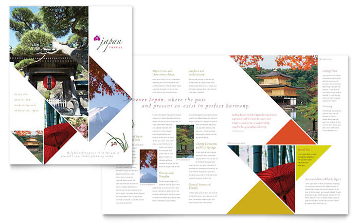 Brochure Example - Japan Travel
