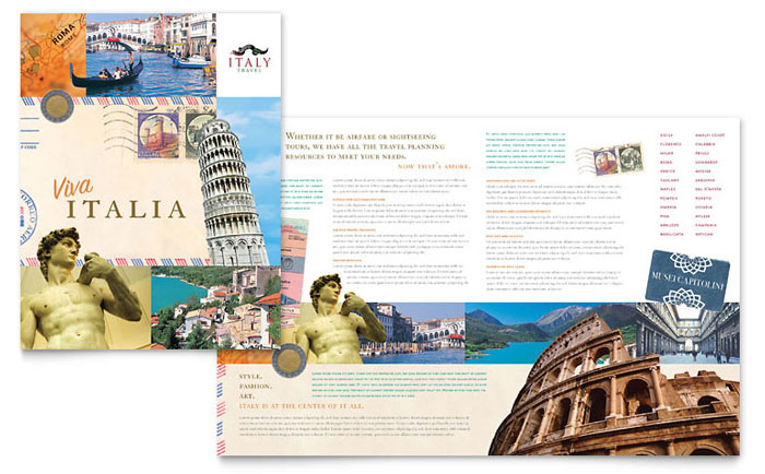 creative travel brochures  u0026 marketing ideas