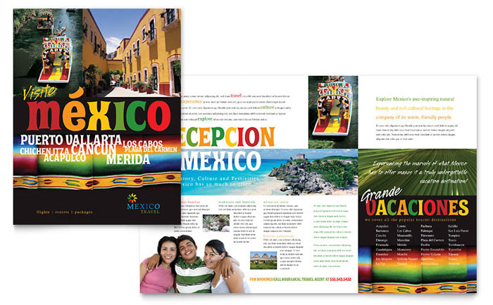 Brochure Example - Mexico Travel