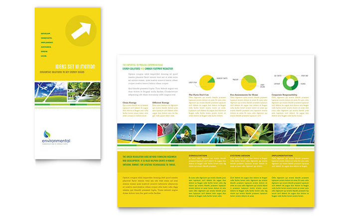Environmental Conservation Brochure Design