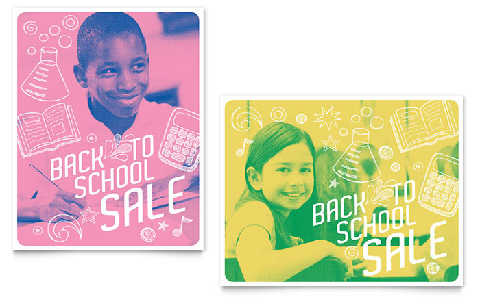 Poster Example - Back 2 School