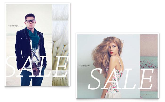 Poster Sample - Urban Fashion