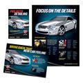 Auto Detailing Flyer & Ads Design