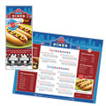 American Diner Restaurant Take-Out Menu Design