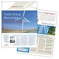 Energy Company Newsletter Design