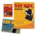 Live Music Festival Flyer & Ad Design