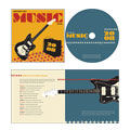 Live Music Festival CD Booklet & Imprint Design
