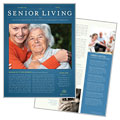 Senior Living Community Newsletter Design
