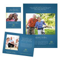 Senior Living Community Flyer & Ad Design