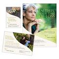 Memorial & Funeral Program Services Flyer & Ads Design