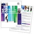 Business Leadership Conference Brochure Design