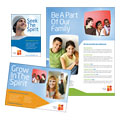 Christian Church & Youth Ministry Flyer & Ad Design