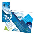 Ski & Snowboard Instructor Brochure Design