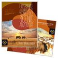 African Safari Poster Design