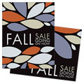 Fall Sale Poster Design