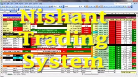 Nishant Trading System Excel