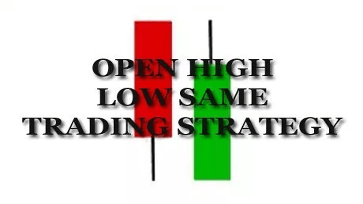 Open High Low Same Trading Strategy For NSE / BSE
